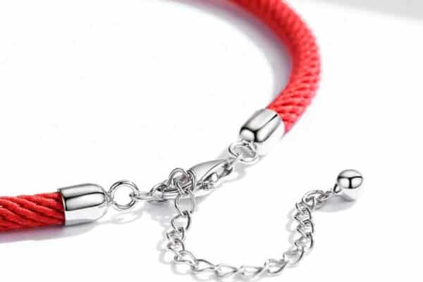 Rouge Bracelet Porte-Bonheur