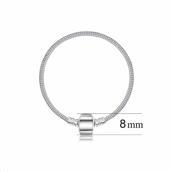 Bracelet Porte Bonheur Pour Charm Taille