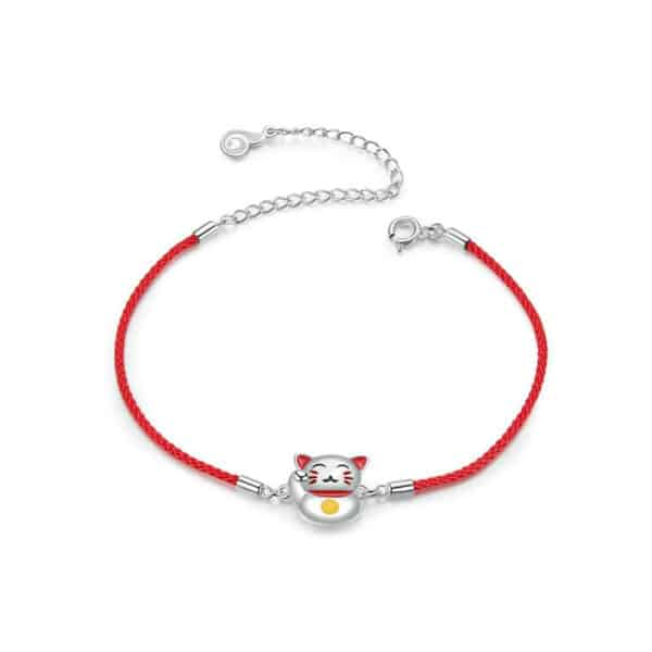 Bracelet Porte-Bonheur Maneki Neko Face