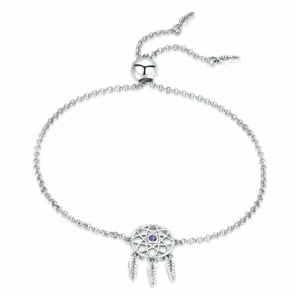 Bracelet Porte-Bonheur Attrape-Rêves