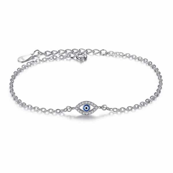 bracelet oeil bleu protecteur