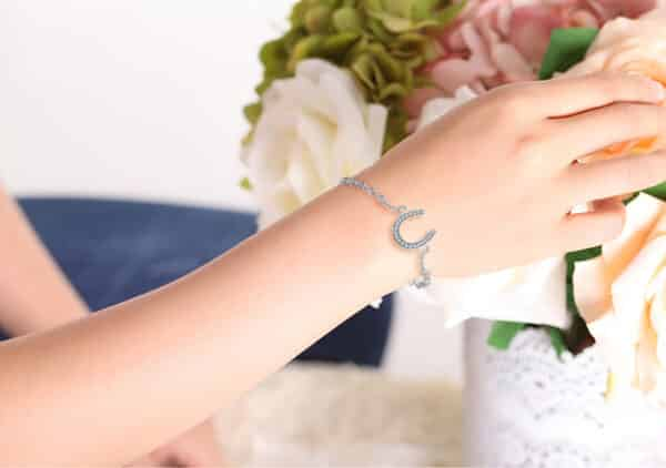 Bracelet Porte-Bonheur Fer Cheval