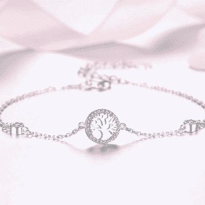 Bracelet Porte-Bonheur Arbre Vie