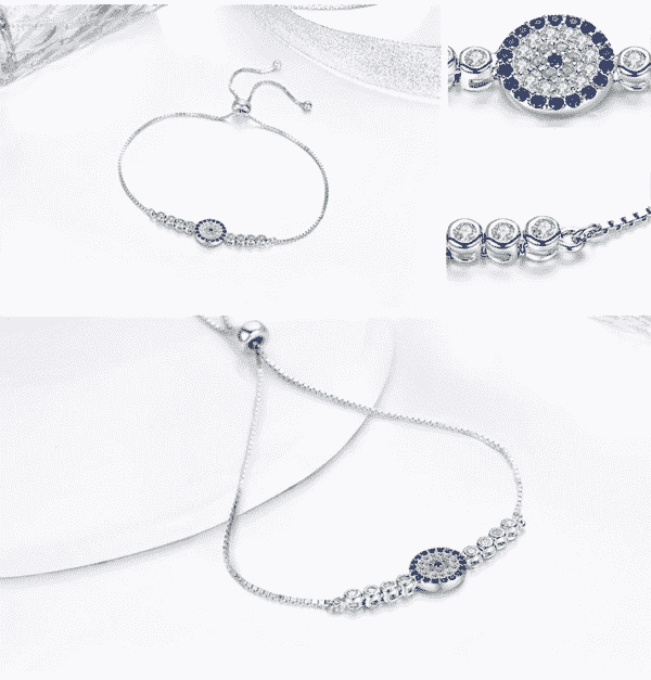 Bracelet Porte-Bonheur Oeil 3 Côtés