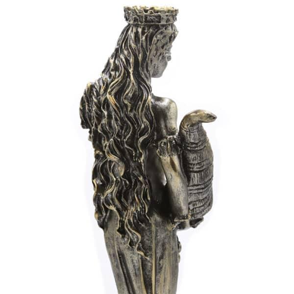 Statuette Porte-Bonheur Déesse Fortuna Dos