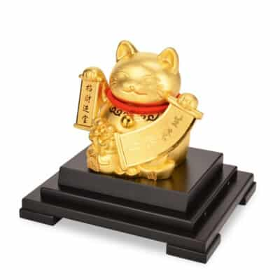 Porte-Bonheur Feng Shui Statuette Cat