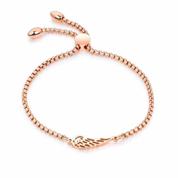 Bracelet Porte-Bonheur Ailes d'Ange