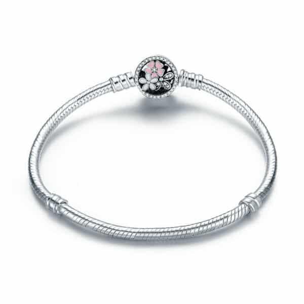 Bracelet Fleur pour Charm Porte-Bonheur