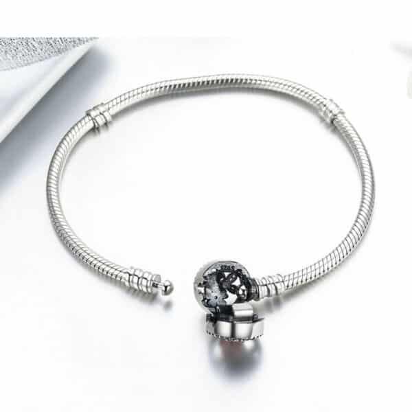 Bracelet dessin Fleur Pour Charm Porte-Bonheur