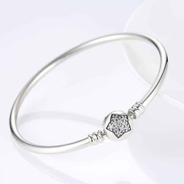 Bracelet en Etoile pour Charm Porte-Bonheur