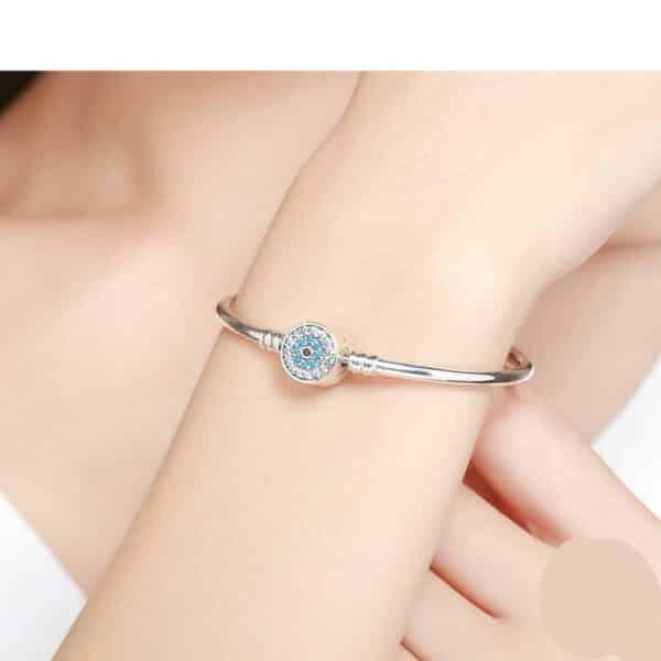Bracelet Oeil pour Charm Porte-Bonheur