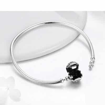 Bracelet Charm Porte-Bonheur Cristal