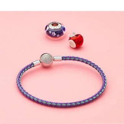 Bracelet Bi-Color Charm Porte-Bonheur