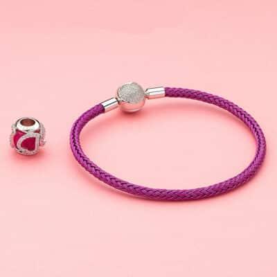 Bracelet Coloré Pour Charm Porte-Bonheur