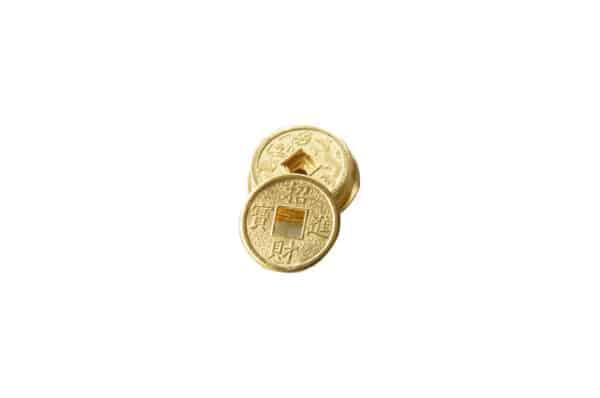 pièces d'or porte-bonheur feng shui