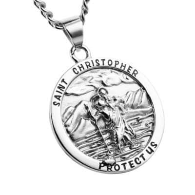 Médaille Saint Christophe Porte-Bonheur