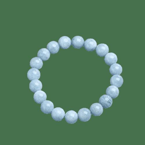Bracelet Perle Aigue-Marine