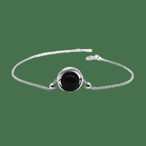 Bracelet Perle Porte-Bonheur Onyx