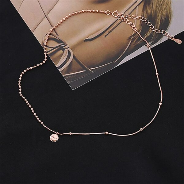Collier Pois Chanceux Italie