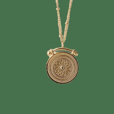 Collier Pièce Porte-Bonheur Romaine