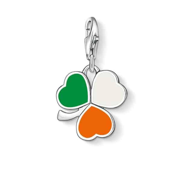 Charm Trèfle Irlandais Porte-Bonheur