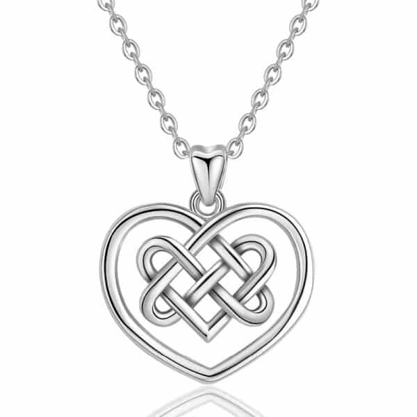 Pendentif Porte-Bonheur Nœud Celtique Amour Eternel